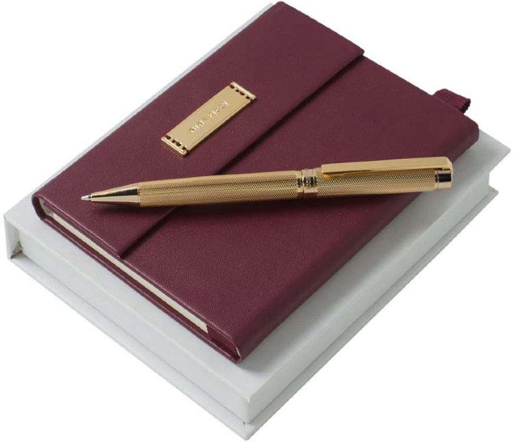 Блокнот с ручкой в подарок 808